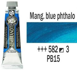 REMBRANDT Екстра Фини Маслени Бои 40 мл. - Manganese Blue Phthalo 3, № 582