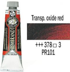 REMBRANDT Екстра Фини Маслени Бои 40 мл. - Transparent Oxide Red 3, № 378