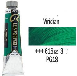REMBRANDT Екстра Фини Маслени Бои 40 мл. - Viridian 3, № 614