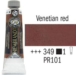 REMBRANDT Екстра Фини Маслени Бои 40 мл. - Venetian Red 1, № 349
