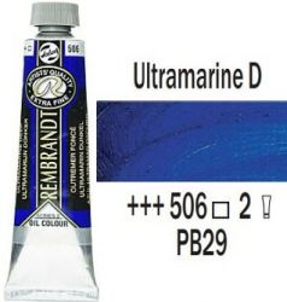 REMBRANDT Екстра Фини Маслени Бои 40 мл. - Ultramarine Deep 2, № 506