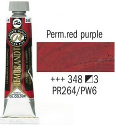 REMBRANDT Екстра Фини Маслени Бои 40 мл. - Permanent Red Purple 3, № 348