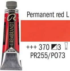 REMBRANDT Екстра Фини Маслени Бои 40 мл. - Permanent Red Light 3, № 370