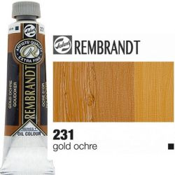 REMBRANDT Екстра Фини Маслени Бои 40 мл. - Gold Ochre 1, № 231