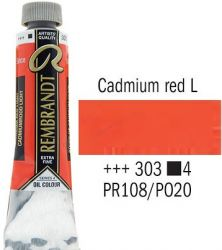 REMBRANDT Екстра Фини Маслени Бои 40 мл. - Cadmium Red Light 4, № 303