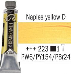 REMBRANDT Екстра Фини Маслени Бои 40 мл. - Naples Yellow Deep 2, № 223