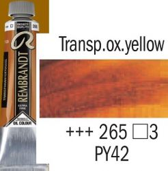 REMBRANDT Екстра Фини Маслени Бои 40 мл. - Transparent Oxide Yellow 3, № 265