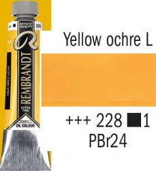REMBRANDT Екстра Фини Маслени Бои 40 мл. - Yellow Ochre Light 1, № 228