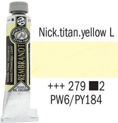 REMBRANDT Екстра Фини Маслени Бои 40 мл. - Nickel Titan Yellow Light 2, № 279