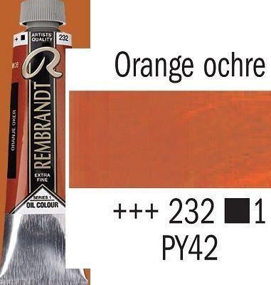 REMBRANDT Екстра Фини Маслени Бои 40 мл. - Orange Ochre 1, № 232