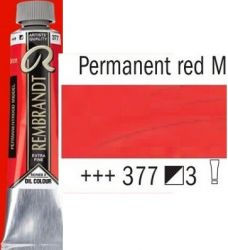 REMBRANDT Екстра Фини Маслени Бои 40 мл. - Permanent Red Medium 3, № 377