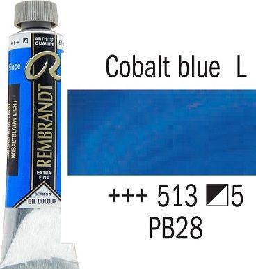 REMBRANDT Екстра Фини Маслени Бои 40 мл. - Cobalt Blue Light 5, № 513