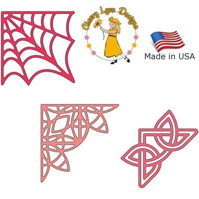DIES by Cheery Lynn USA - Шаблон за рязане и ембос / b173