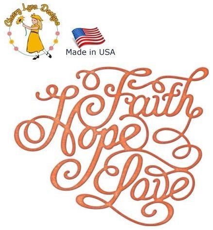 Cheery Lynn ,USA - Шаблон за рязане и ембос / b565
