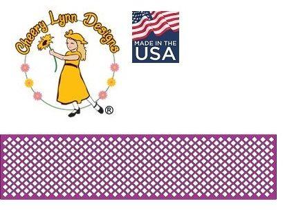 Cheery Lynn ,USA - Шаблон за рязане и ембос b254