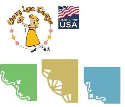 DIE by Cheery Lynn USA - Шаблони за рязане и ембос / b429