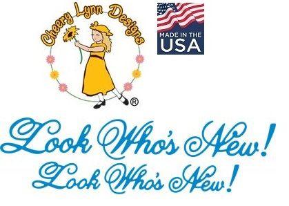 DIES by Cheery Lynn USA - Шаблон за рязане и ембос / b293