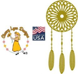DREAMCATCHER Cheery Lynn ,USA - Шаблон за рязане и ембос B317