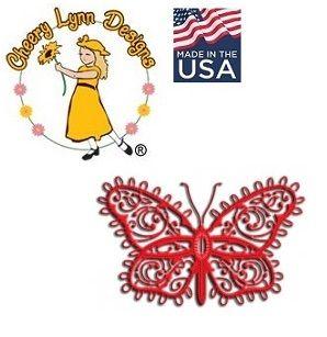 BUTTERFLY Cheery Lynn ,USA - Шаблон за рязане и ембос Пеперуда / dl132