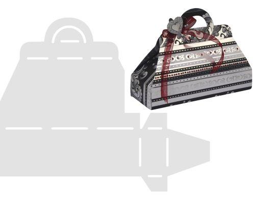 RAYHER STENCIL SUITCASE - Шаблон за изработка на чанта 17.5 х 21.5см