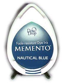 MEMENTO DEW DROP  - Тампон с ярък отпечатък NAUTICAL BLUE