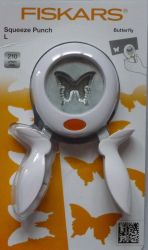 FISKARS SQUEEZE PUNCH - ПЕРФОРАТОР *  LARGE BUTTERFLY