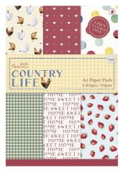 COUNTRY LIFE PAD -  Дизайн блок 24sheet, 8x4 designs, A5