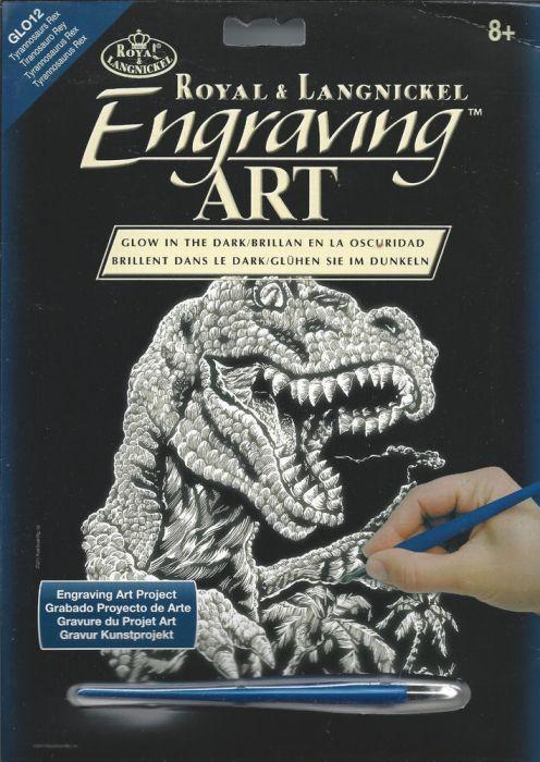 R&L,USA Engraving Art А4 - Картина за гравиране - светещо на тъмно фолио