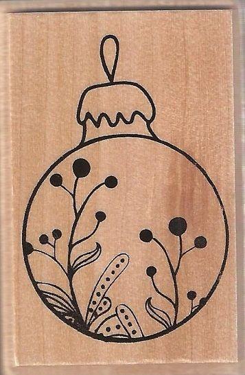 ALADINE STAMP D - Гумен печат на дървено блокче 01352