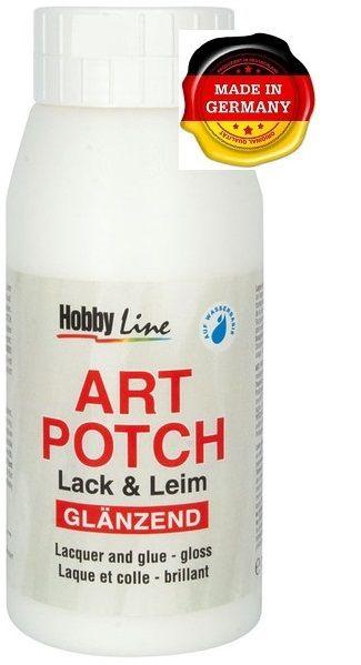 ART POTCH GLANZENED -Лак / лепило гланц за салфетна техника 750 мл
