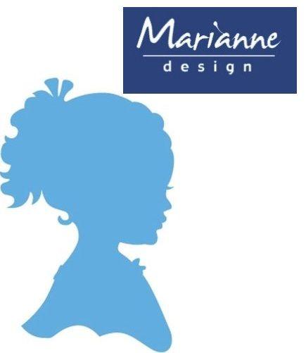 Marianne Design  - Шаблон за рязане и ембос LR0349