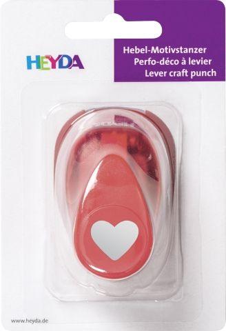 HEYDA Punch  17mm - Дизайн пънч СЪРЦЕ S