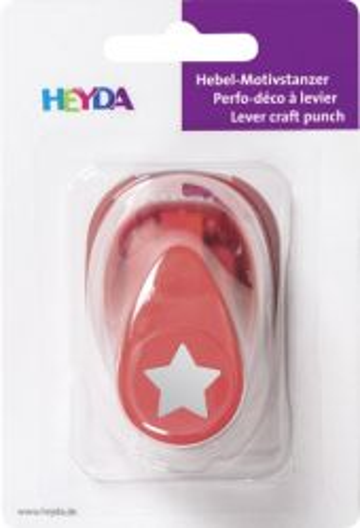 HEYDA Punch  17mm - Дизайн пънч STAR S