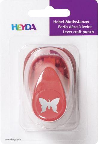HEYDA Punch  17mm - Дизайн пънч BUTTERFLY S