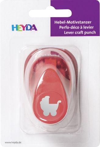 HEYDA Punch  17mm - Дизайн пънч PRAM S