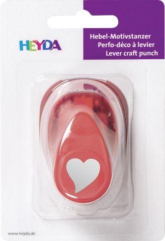 HEYDA Punch  17mm - Дизайн пънч HEART ELEGANT S