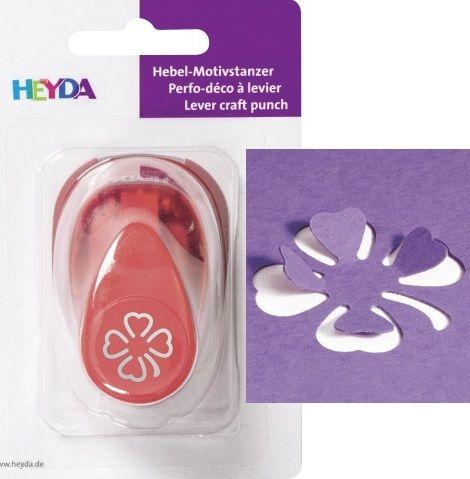 HEYDA Punch  17mm - Дизайн пънч ДЕТЕЛИНА 3D