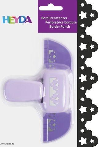 Border Punch HEYDA - Дизайн бордюрен пънч STAR S