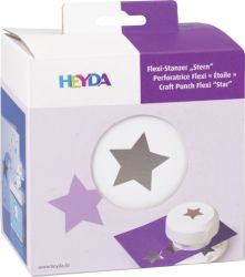 HEYDA FLEXI Punch  40mm - Дизайн пънч STAR