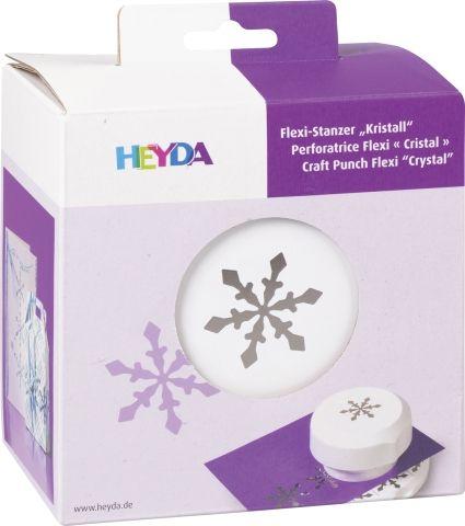 HEYDA FLEXI Punch  40mm - Дизайн пънч  CRYSTAL