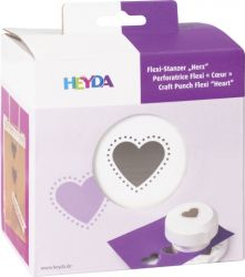 HEYDA FLEXI Punch  40mm - Дизайн пънч HEART
