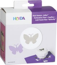 HEYDA Punch  40mm - Дизайн пънч FLEXI BUTTERFLY