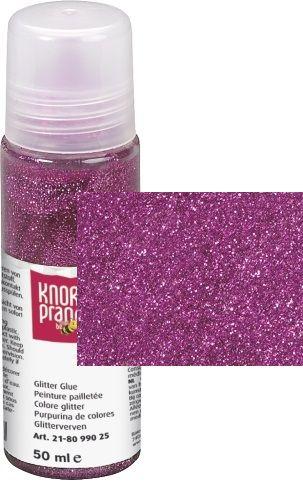 Glitter Glue -Брокат лепило за декорация 50ml. PINK