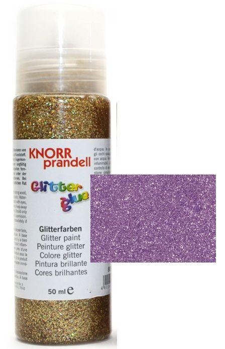 Glitter Glue -Брокат лепило за декорация 50ml. LILAC