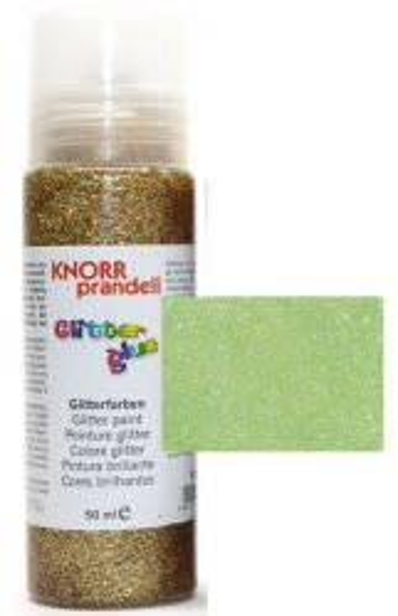 Glitter Glue -Брокат лепило за декорация 50ml. NEON GREEN