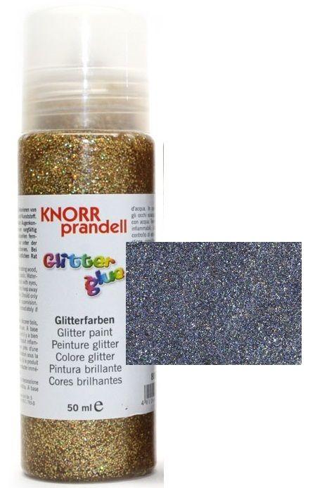 Glitter Glue -Брокат лепило за декорация 50ml. GREY