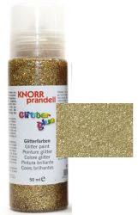 Glitter Glue -Брокат лепило за декорация 50ml. GOLD