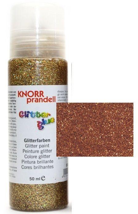 Glitter Glue -Брокат лепило за декорация 50ml. COPPER