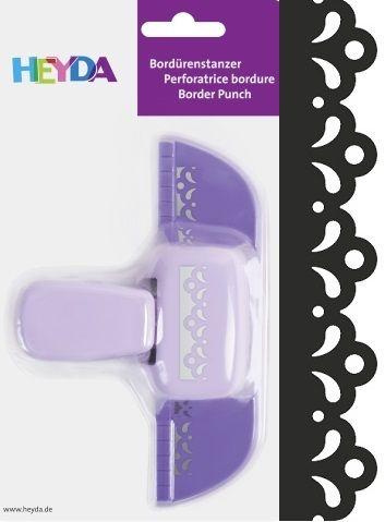 Border Punch HEYDA - Дизайн бордюрен пънч FLOWER