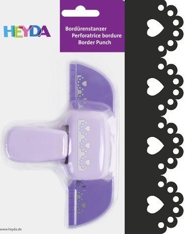 Border Punch HEYDA - Дизайн бордюрен пънч HEART